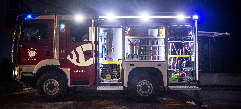 Novo gasilsko vozilo GCGP-1