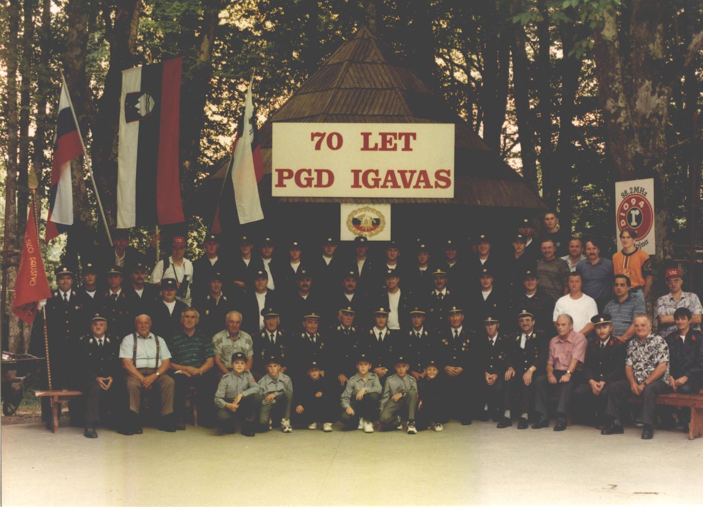 70. obletnica PGD Iga vas